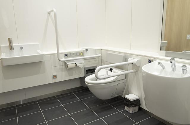 无障碍洗手间